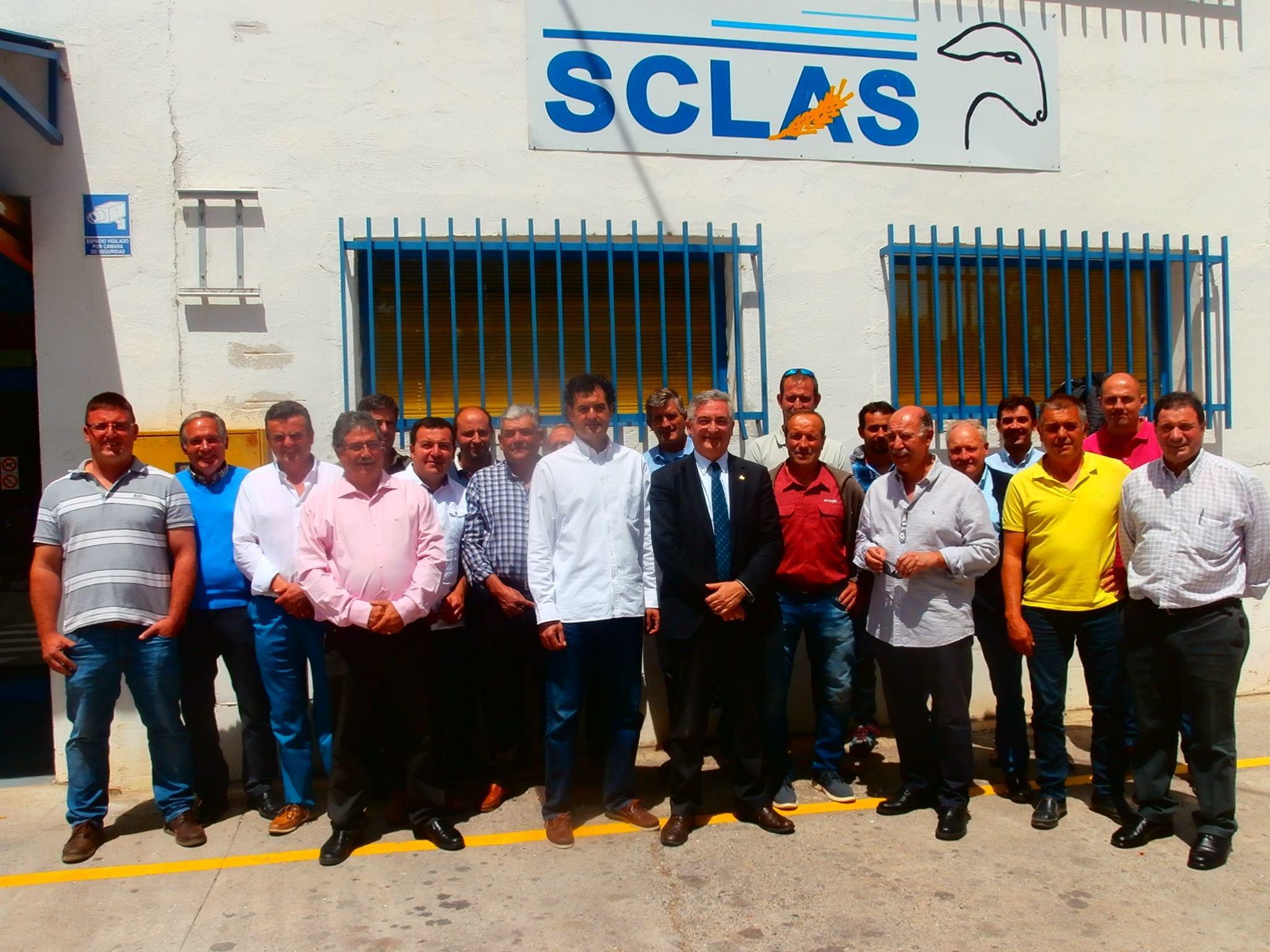 Olona asiste a la asamblea general de SCLAS
