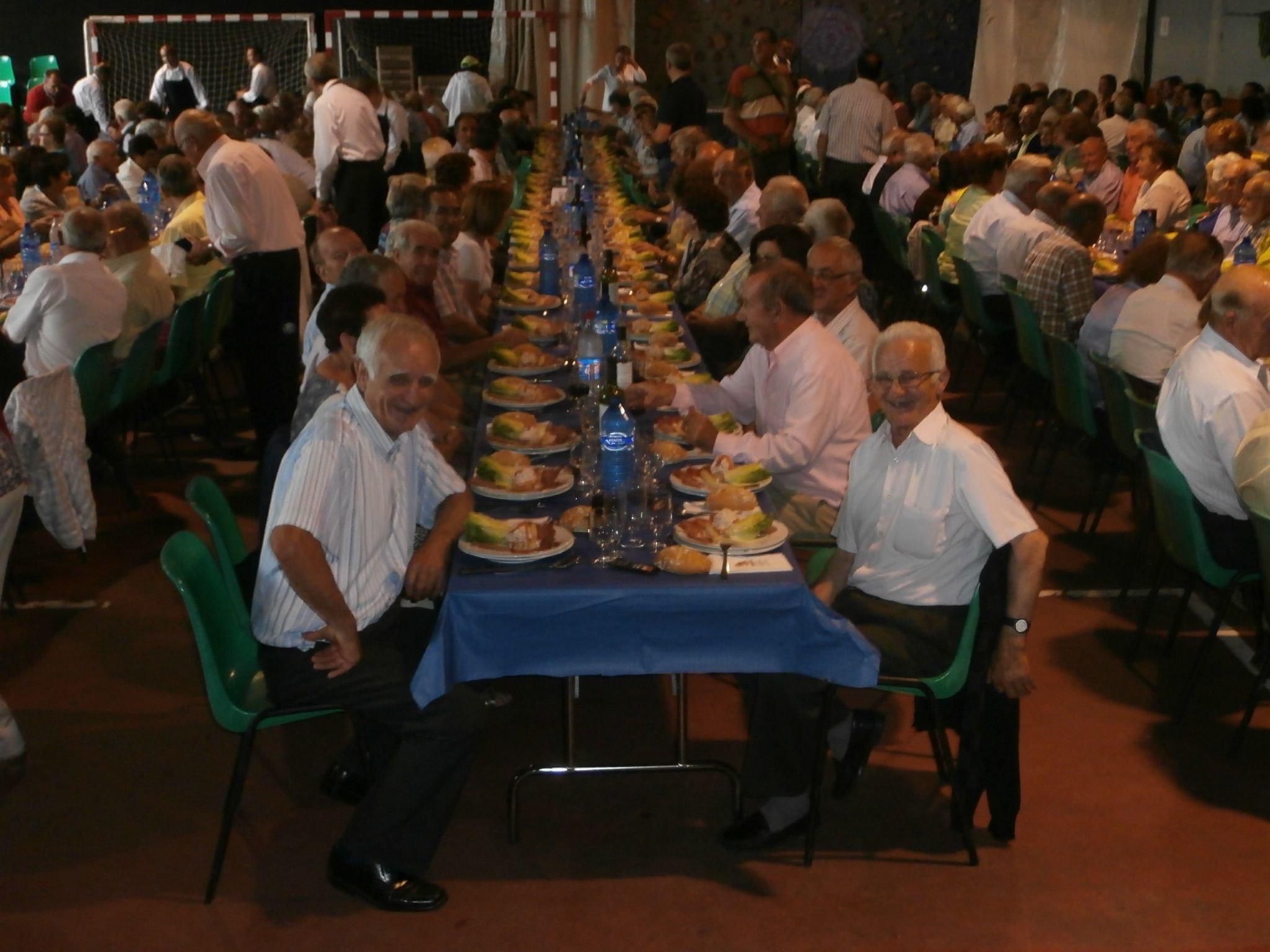 Encuentro de mayores en Boltaña