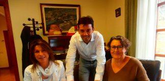 Firma convenio en Sobrarbe