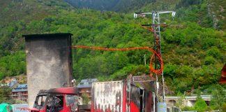 Se desconocen las causas del incendio de Bielsa