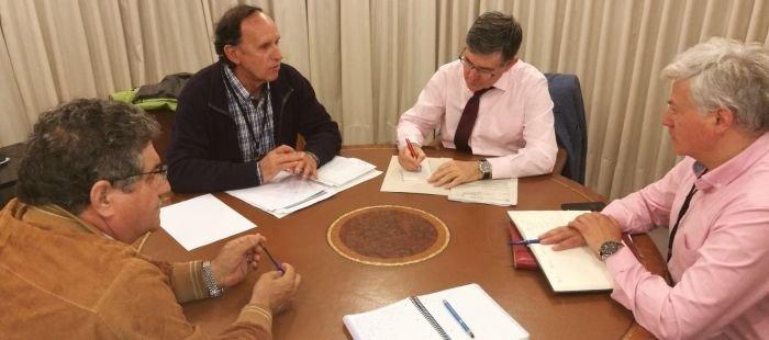 Reunión para resolver el conflicto de las centrales hidroeléctricas del Sobrarbe