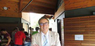 Jorge Díez, gerente de SARGA en Torla-Ordesa en julio de 2018