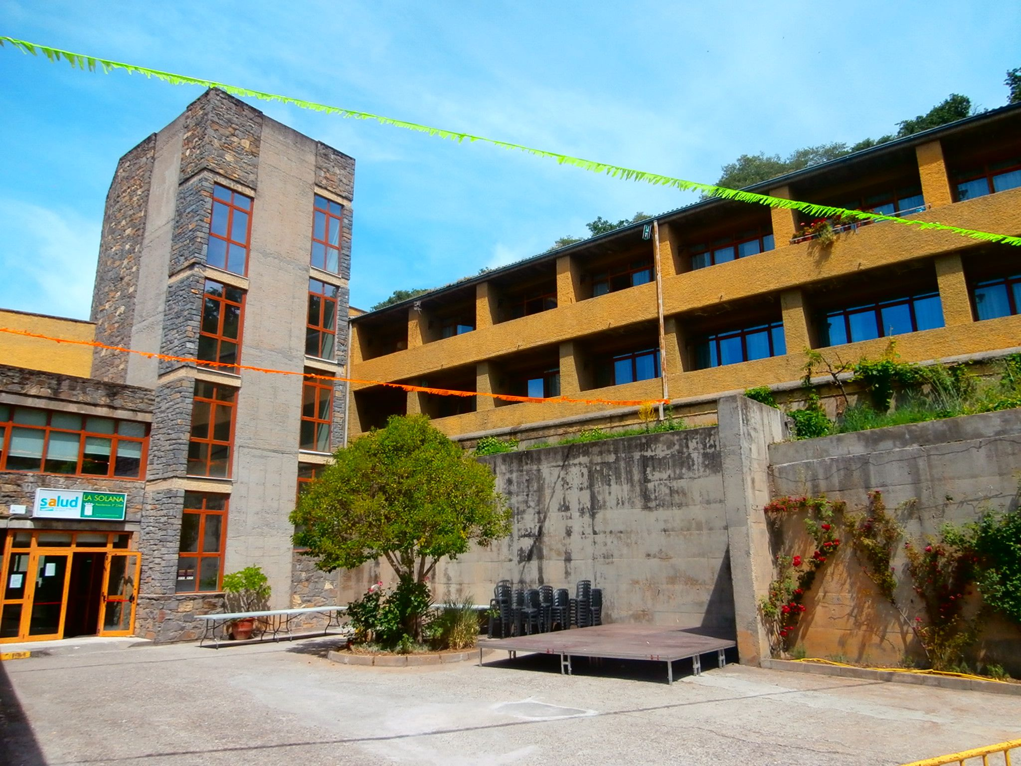 Residencia Comarcal de la Tercera Edad de Sobrarbe. Foto: SobrarbeDigital