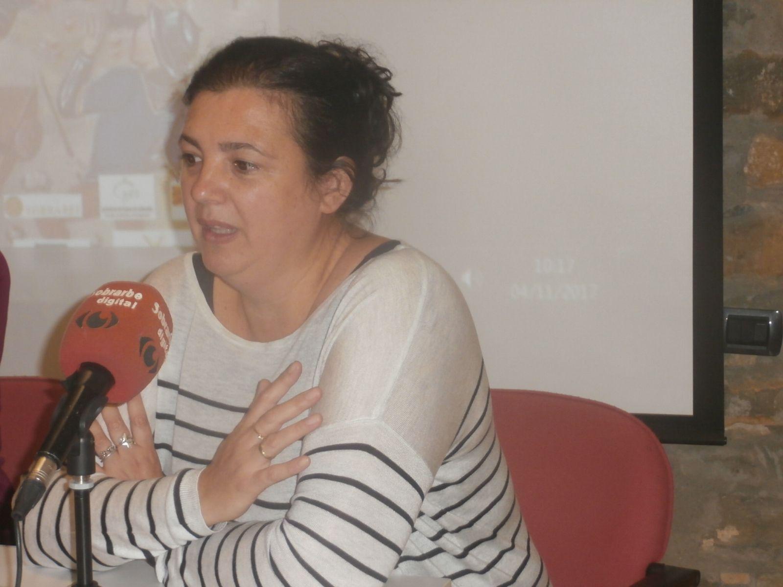 Isabel Bergua. Foto: SobrarbeDigital