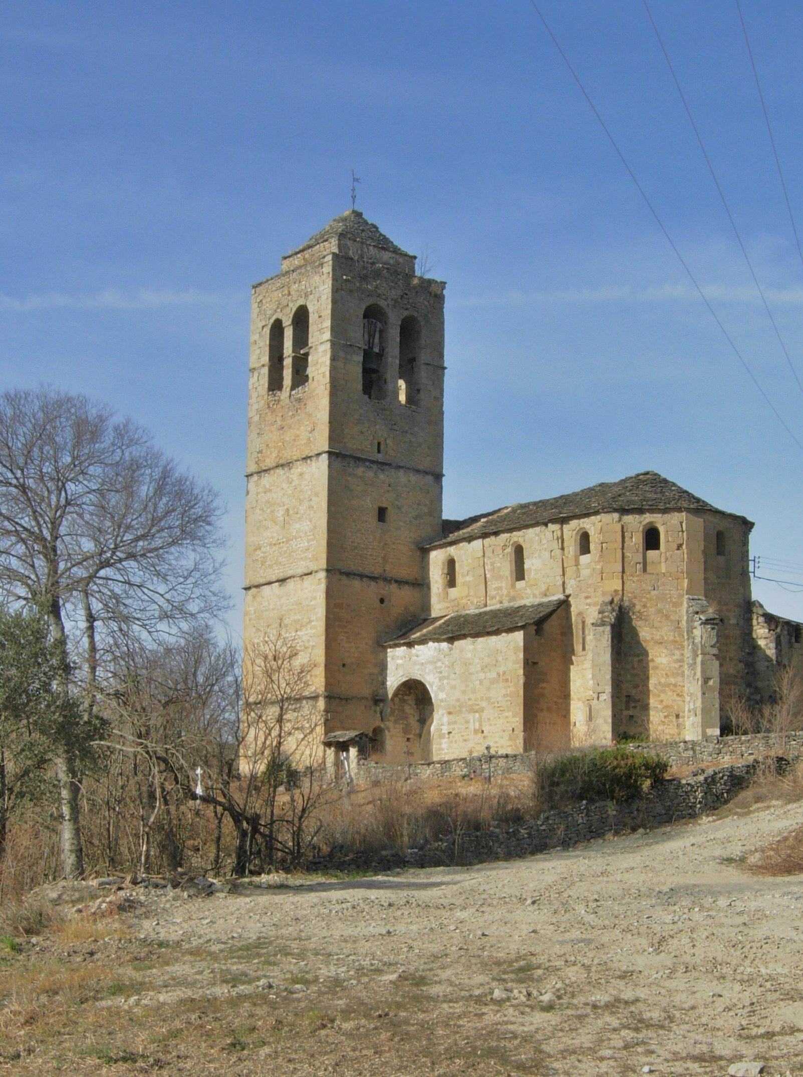 Iglesia de Castejón de Sobrarbe. Foto: José Antonio Talón