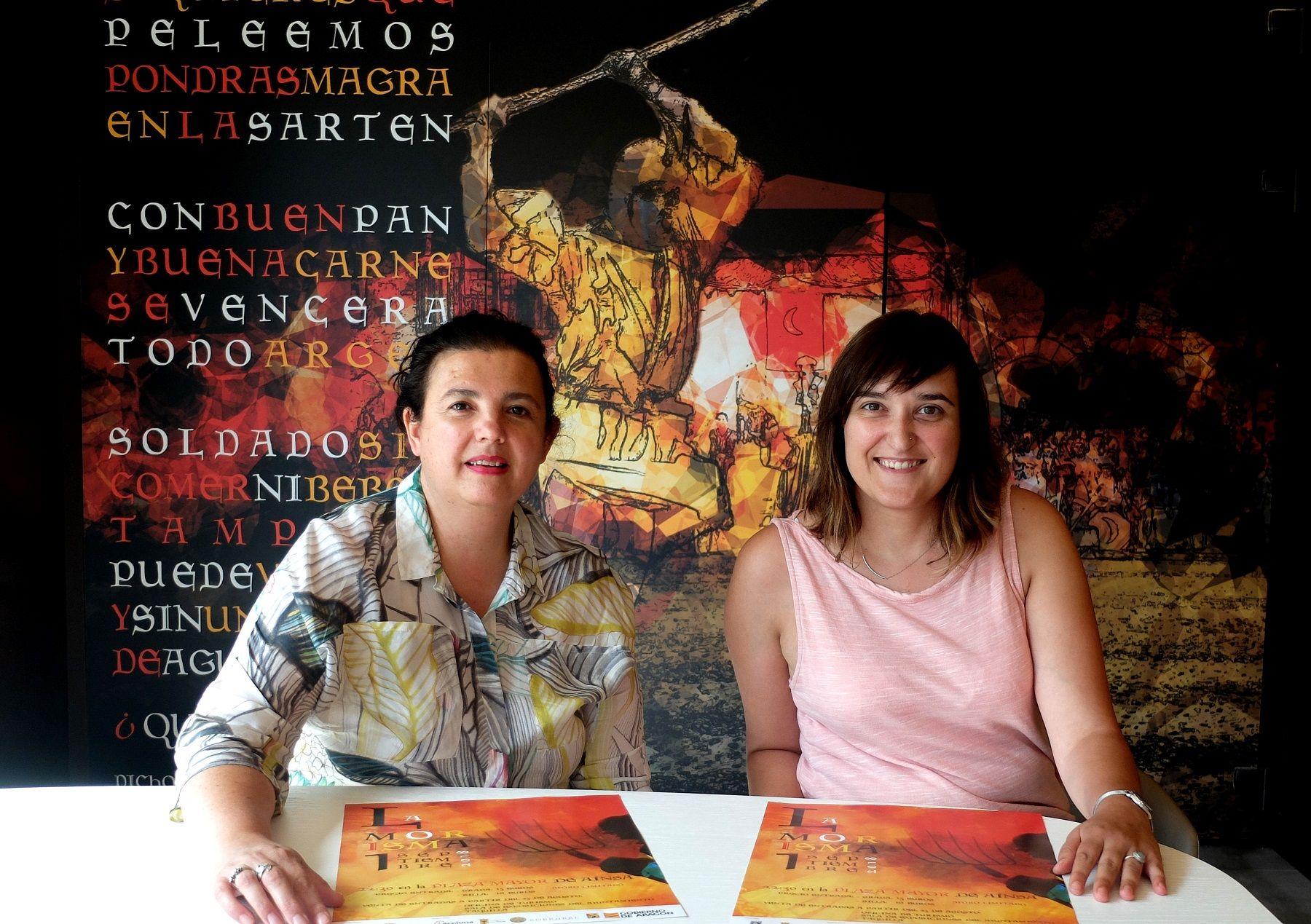 Isabel Bergua y Beatriz Salcedo,