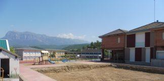 Ampliación del colegio de Aínsa. Fotos: SobrarbeDigital