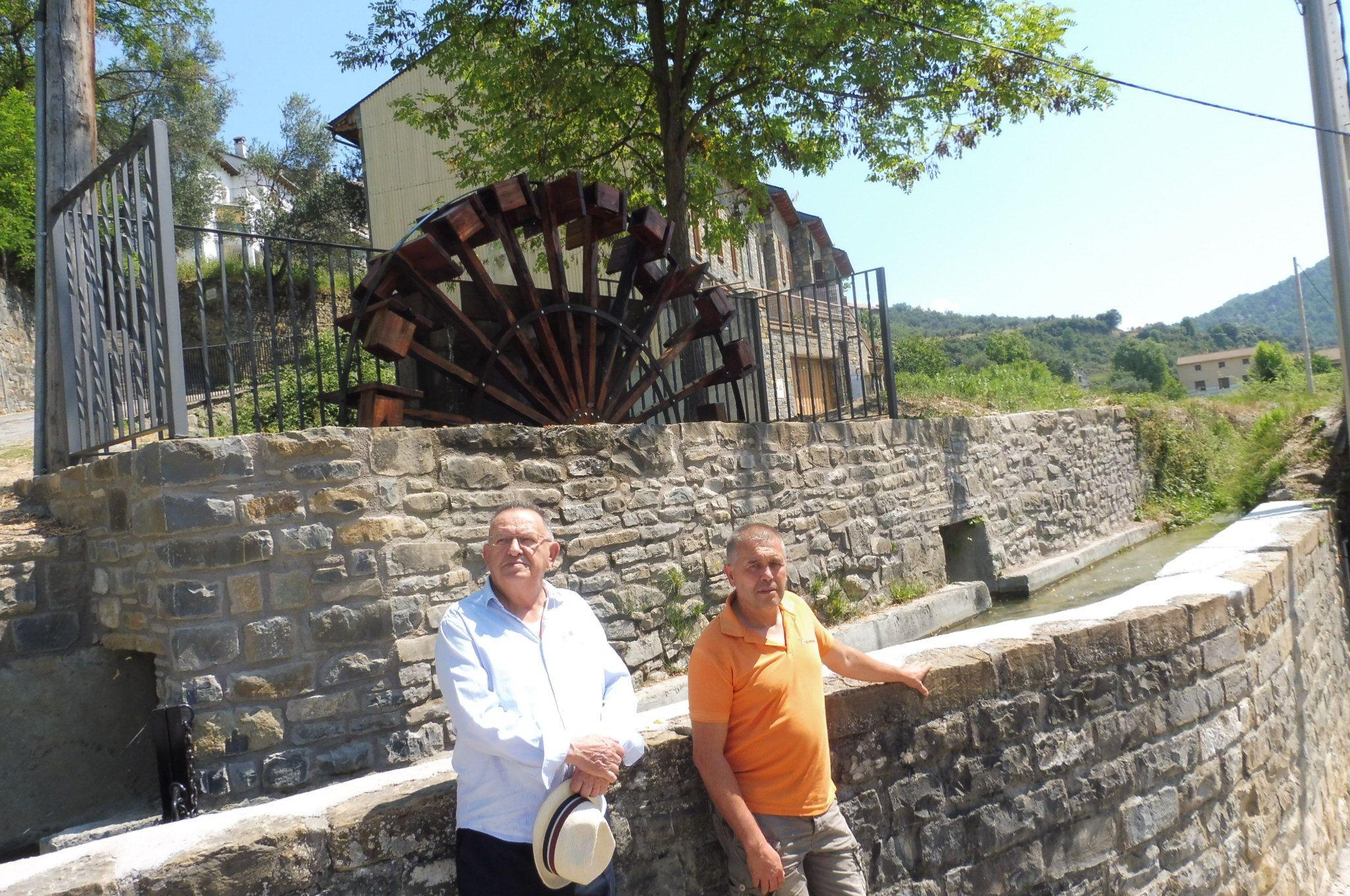 Ramón Menac y Joaquín Solanilla. Fotos: SobrarbeDigital