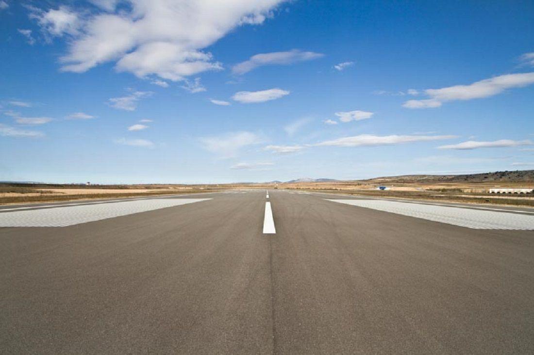 Pista aeropuerto Teruel. Foto: DGA