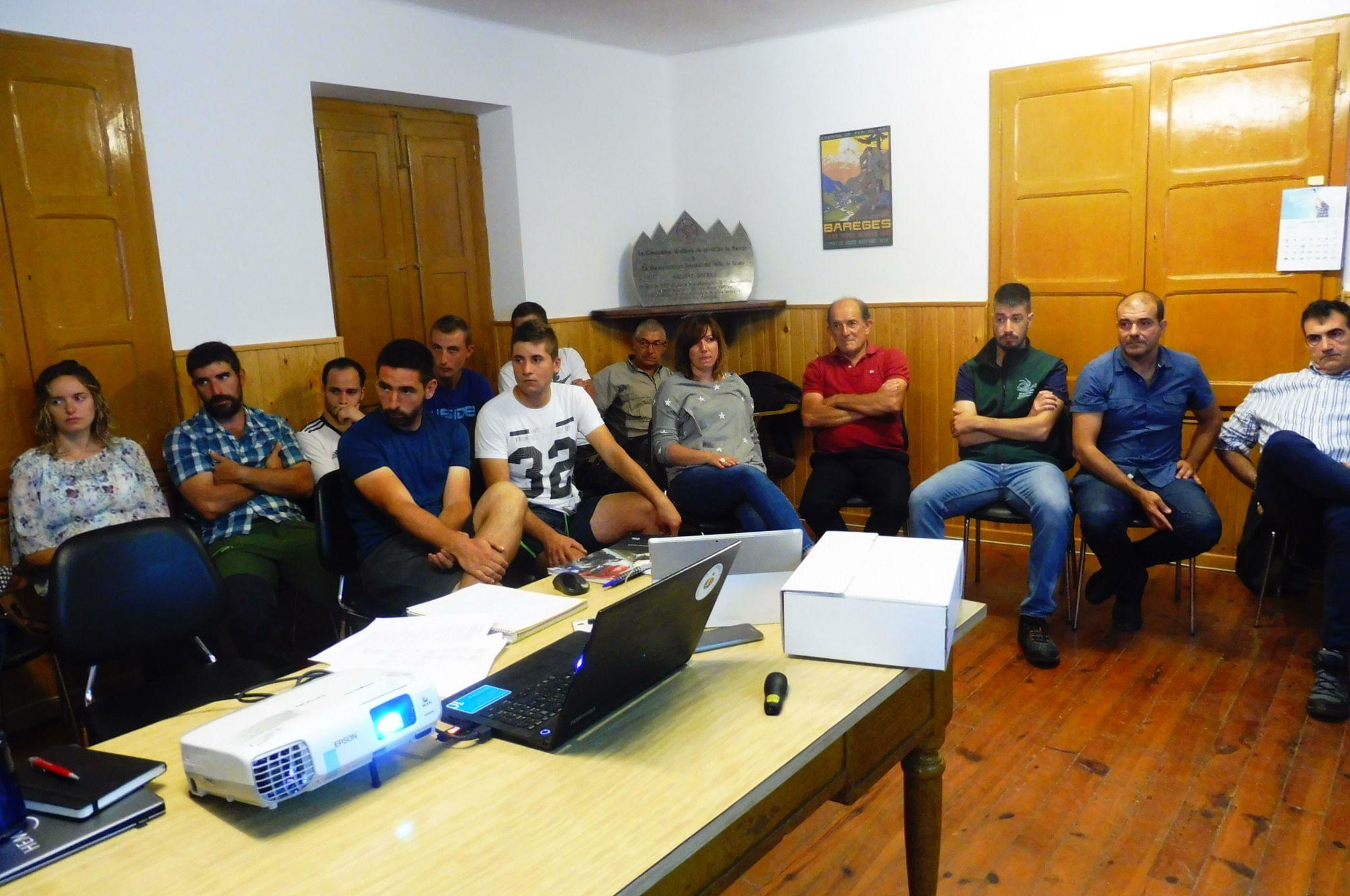 La Casa del Valle de Broto acogió la reunión. Foto: SobrarbeDigital