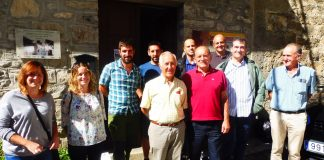 La Casa del Valle de Broto acogió la reunión. Foto. SobrarbeDigital