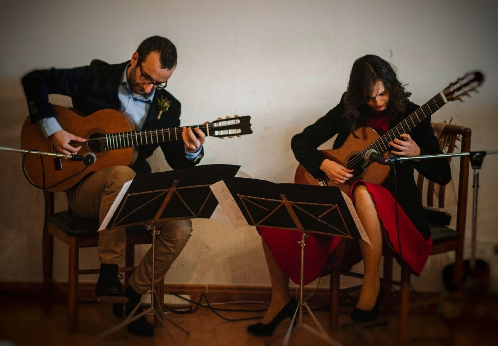 Isaac Náguila e Iris López-Bueno