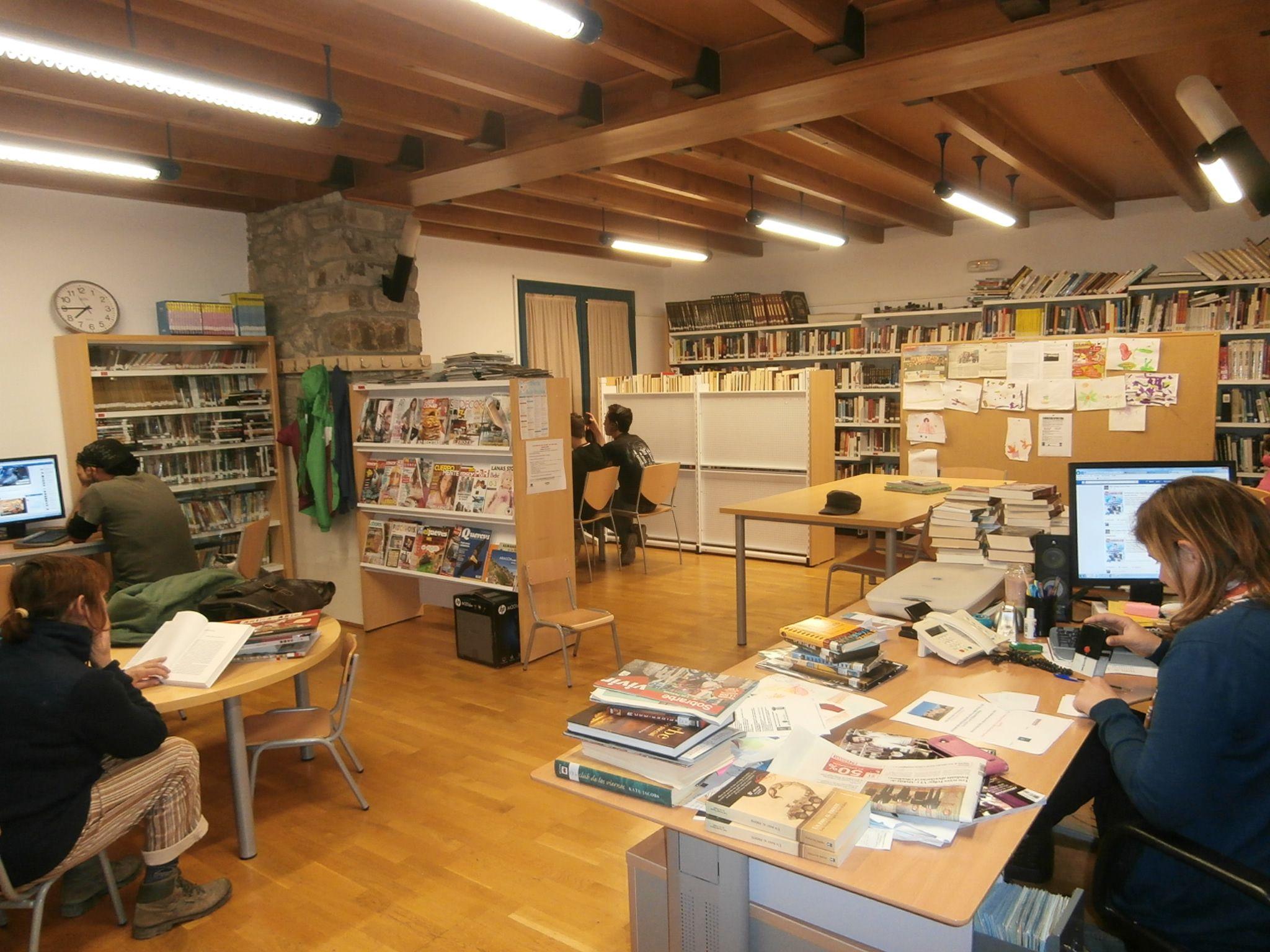 Biblioteca de La Fueva. Foto: SobrarbeDigital