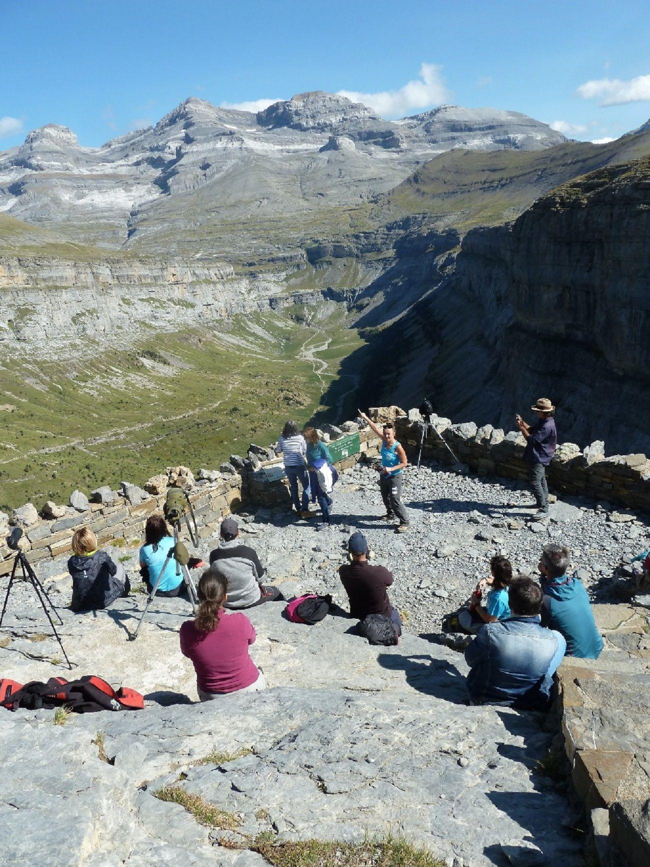GR Sierra Cutas Monte Perdido. Foto: Comarca de Sobrarbe.