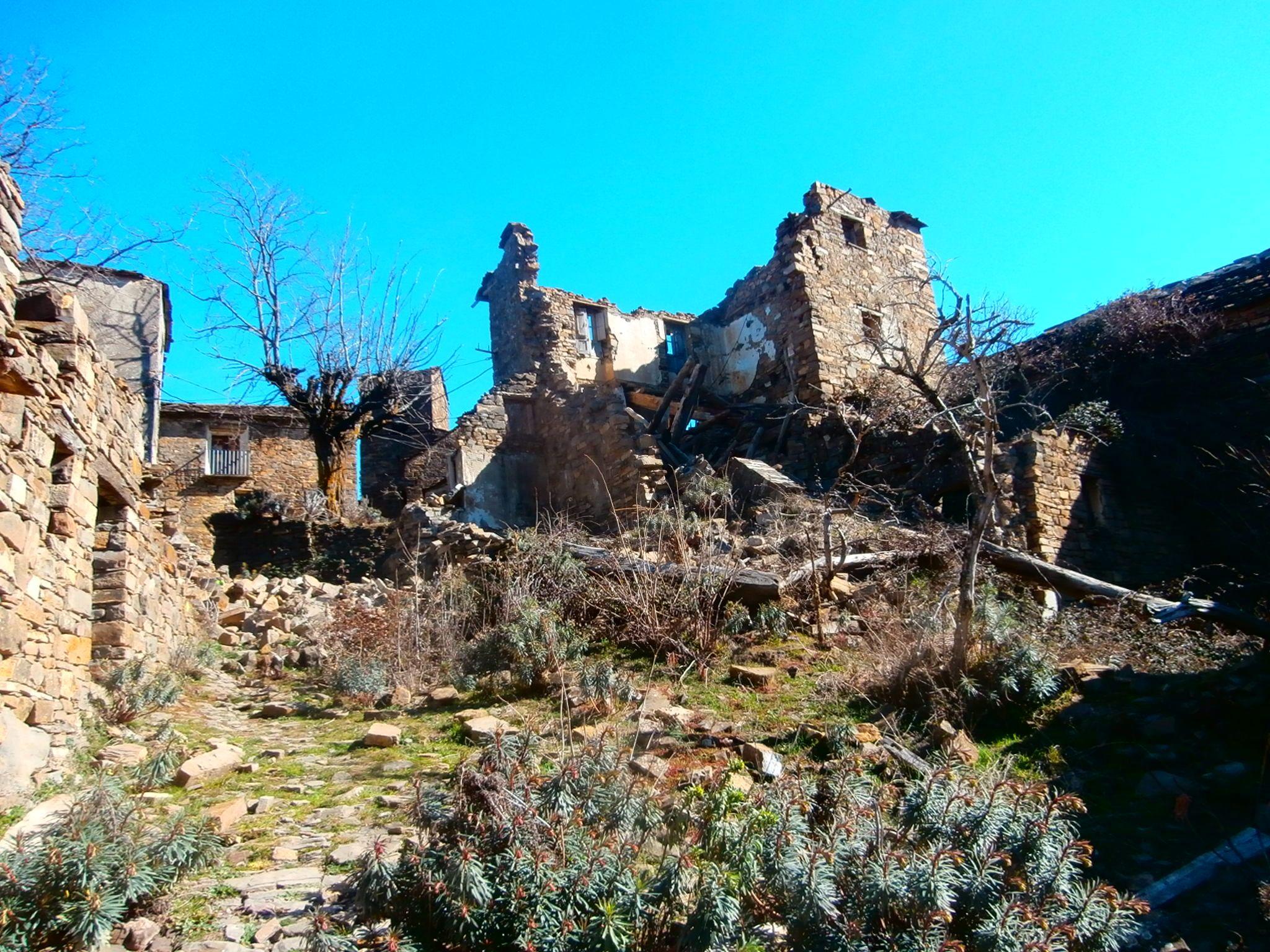 Muro de Bellos, valle de Puértolas. Foto: SobrarbeDigital