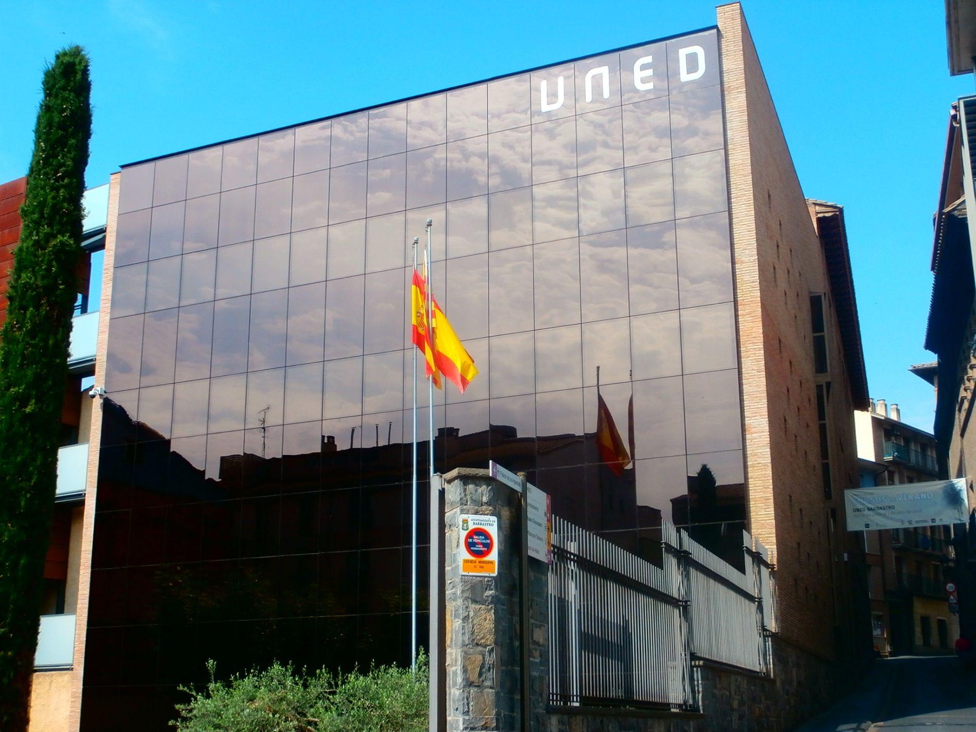 UNED de Barbastro. Foto: SobrarbeDigital