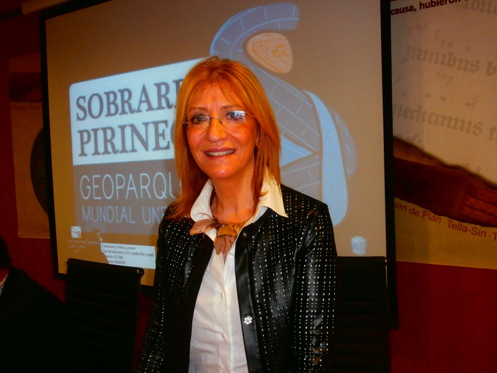 Encarna Samitier, periodista. Foto: SobrarbeDigital