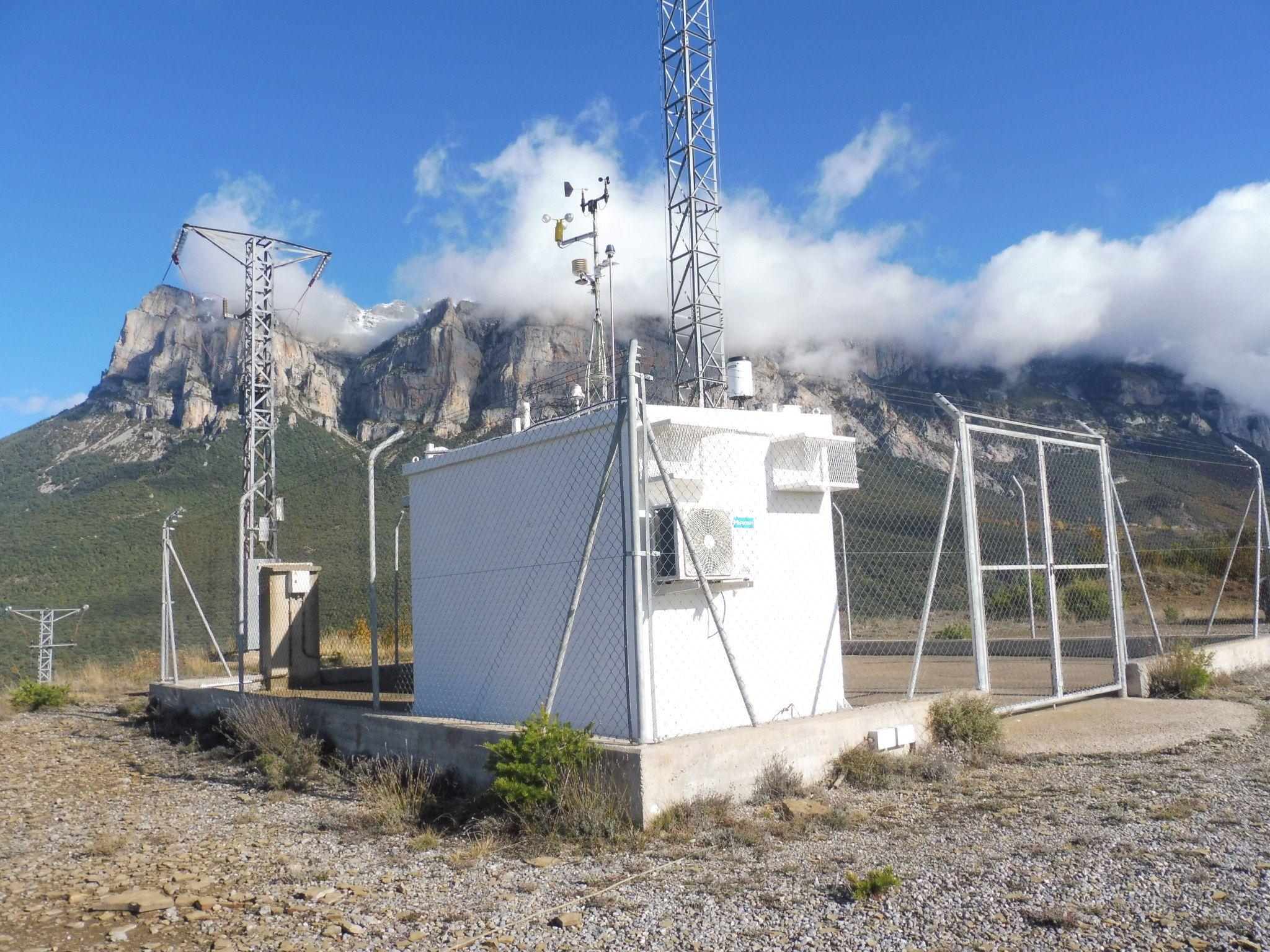Estación de mediación en Torrelisa. Foto: SobrarbeDigital