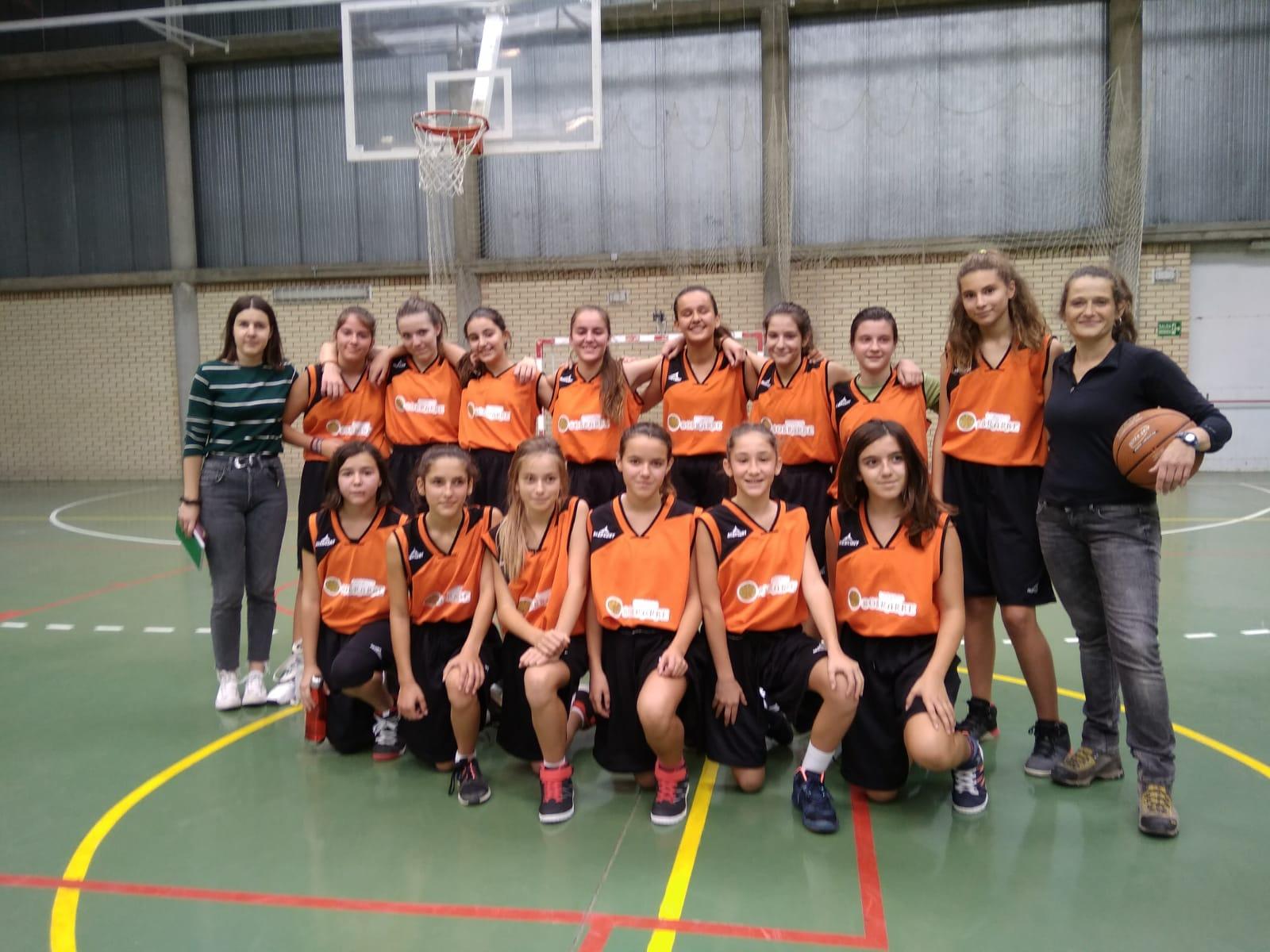 Basket femenino EID Sobrarbe temporada 2018-2019