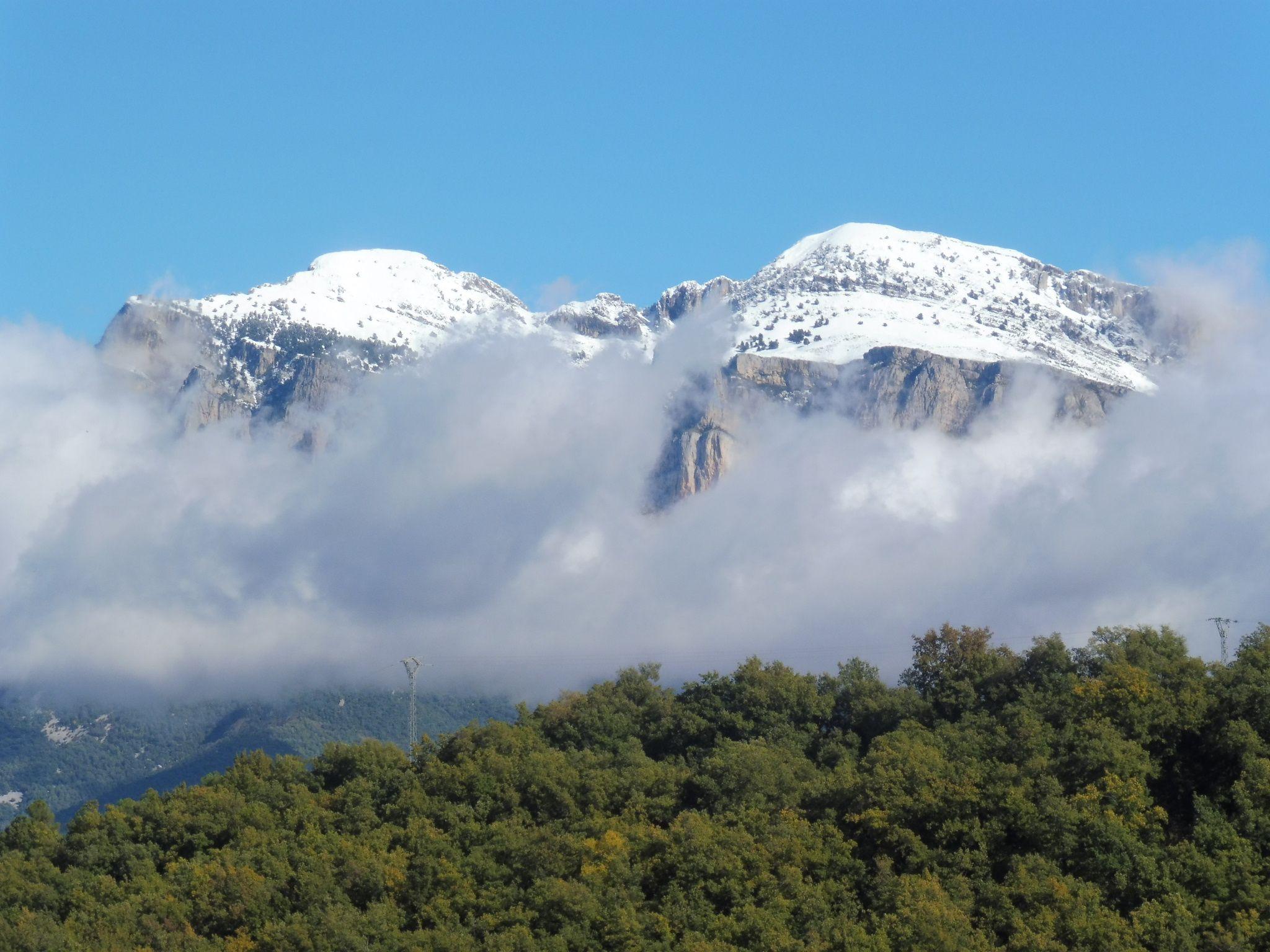 Peña Montañesa, imagen realizada hace unos días. Foto: SobrarbeDigital