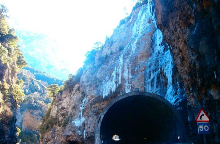 Túnel Las Devotas Enero 2018. Foto: SobrarbeDigital