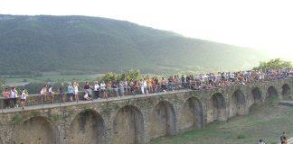 Castillo de Aínsa, la imagen corresponde a Septiembre 2018. Foto: SobrarbeDigital