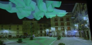 Propuesta para la Plaza Mayor de Boltaña. Foto. SobrarbeDigital