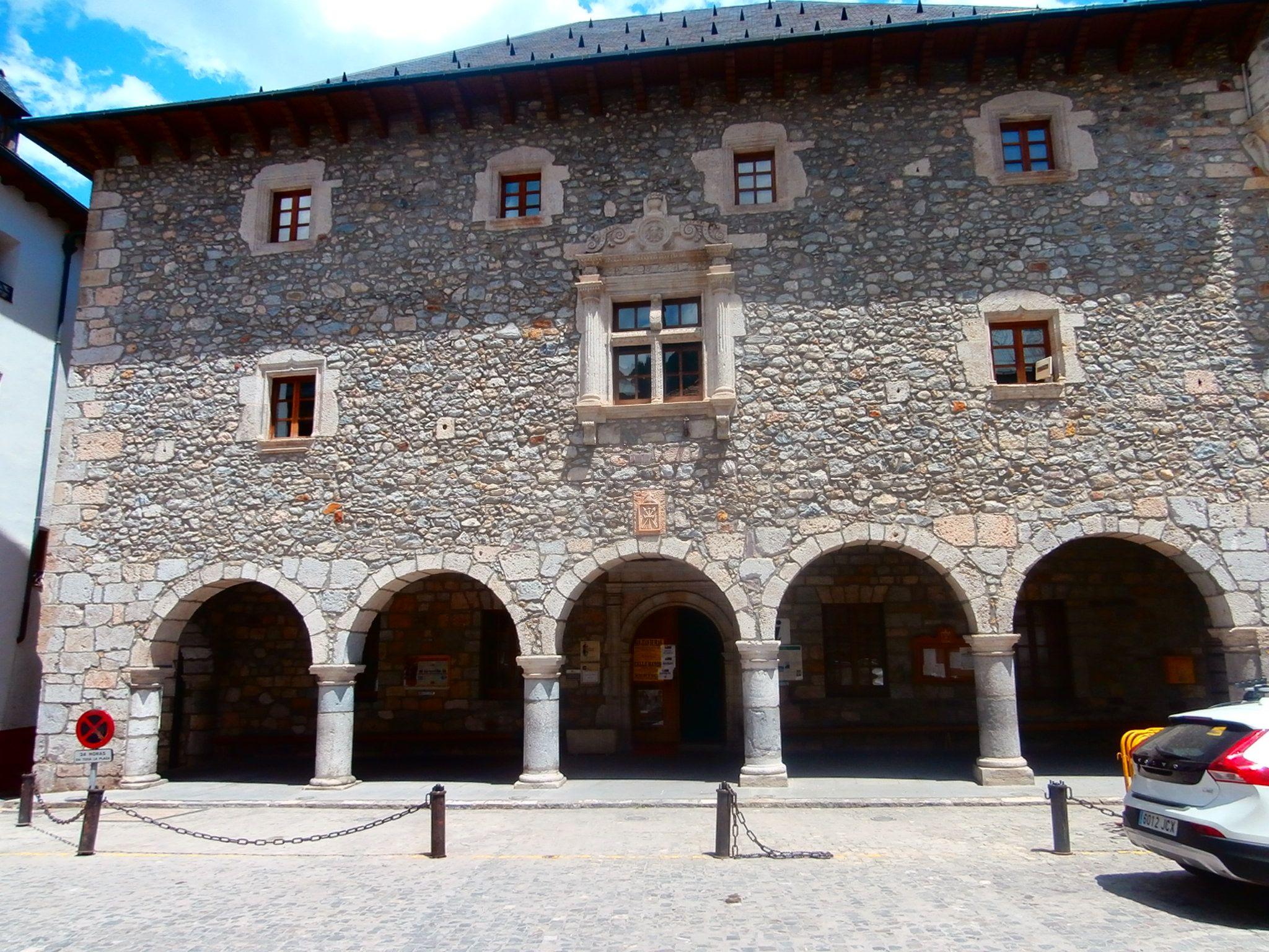 Consistorio de Bielsa. Foto: SobrarbeDigital