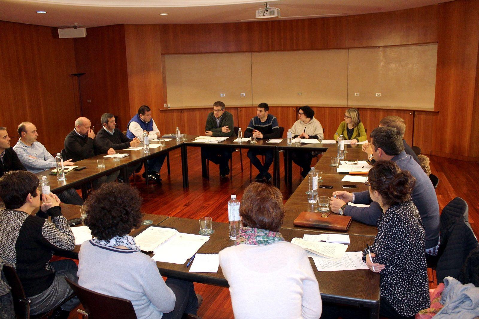 Imagen de la reunión. Foto: DPH