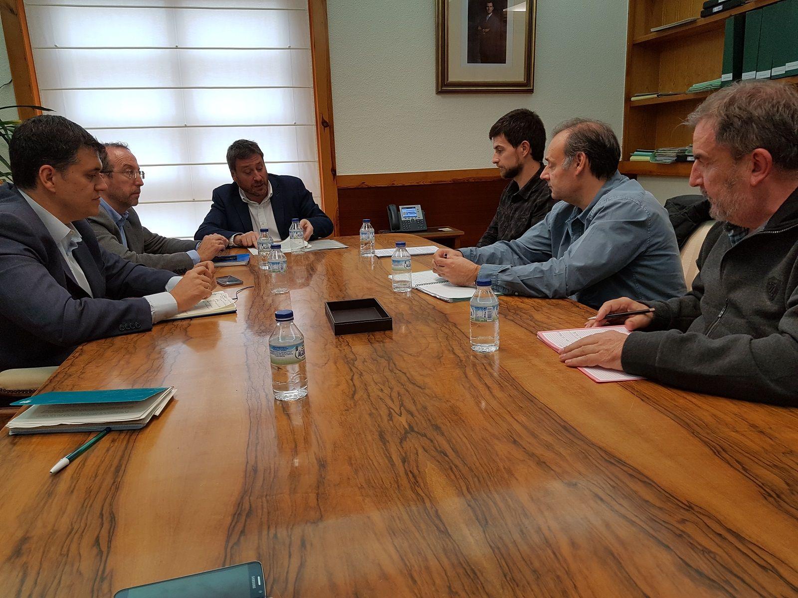 Imagen de la reunión. Foto: DGA.