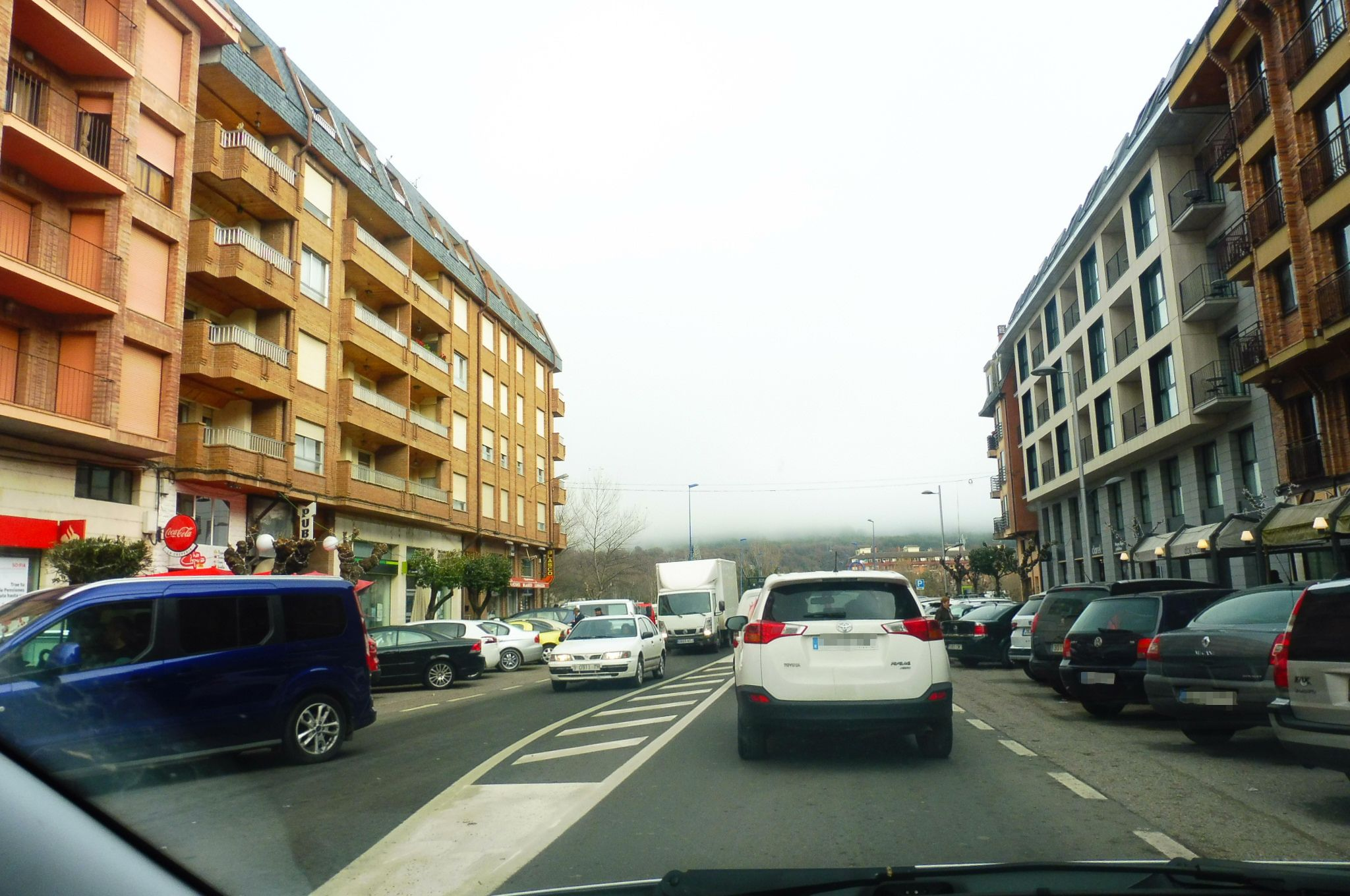 Imagen realizada el viernes 7 de diciembre.. Foto: SobrarbeDigital