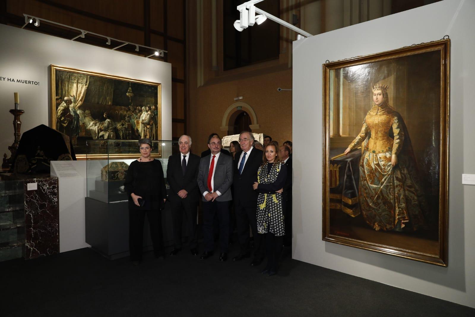 """Exposición """"Panteones Reales de Aragón. Foto: DGA.,"""