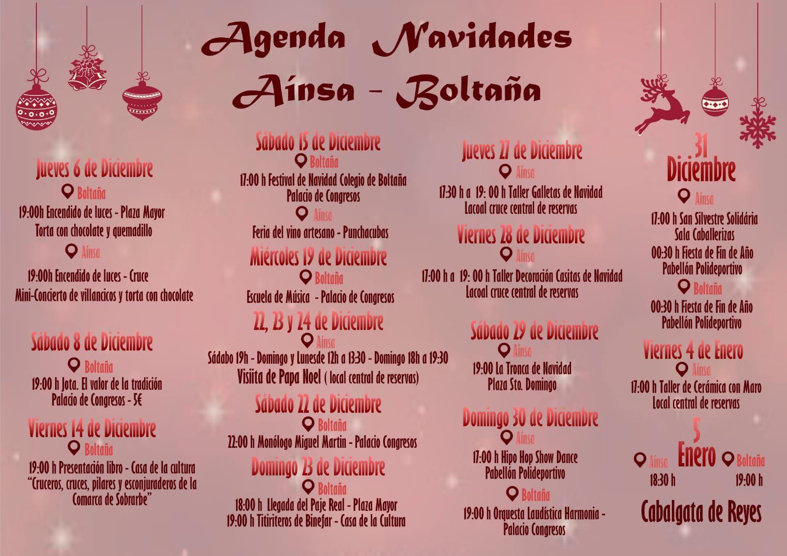 Navidades en Aínsa y Boltaña