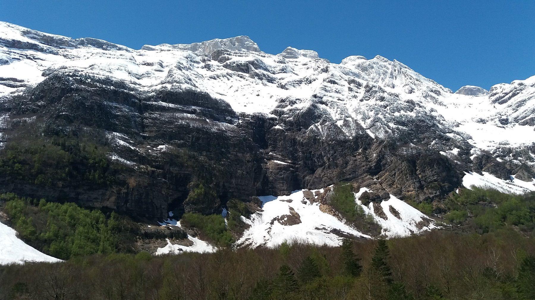 Valle de Pineta, imagen realizada en mayo de 2018. Foto: SobrarbeDigital