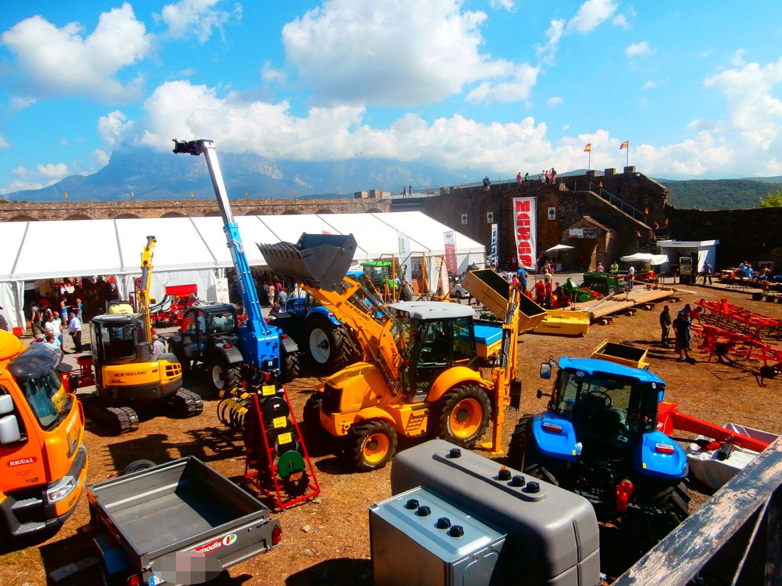 Expoferia de Sobrarbe. Foto: SobrarbeDigital