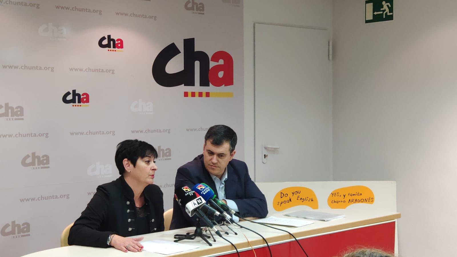Sonia Alastruey y Joaquín Palacín, Foto CHA