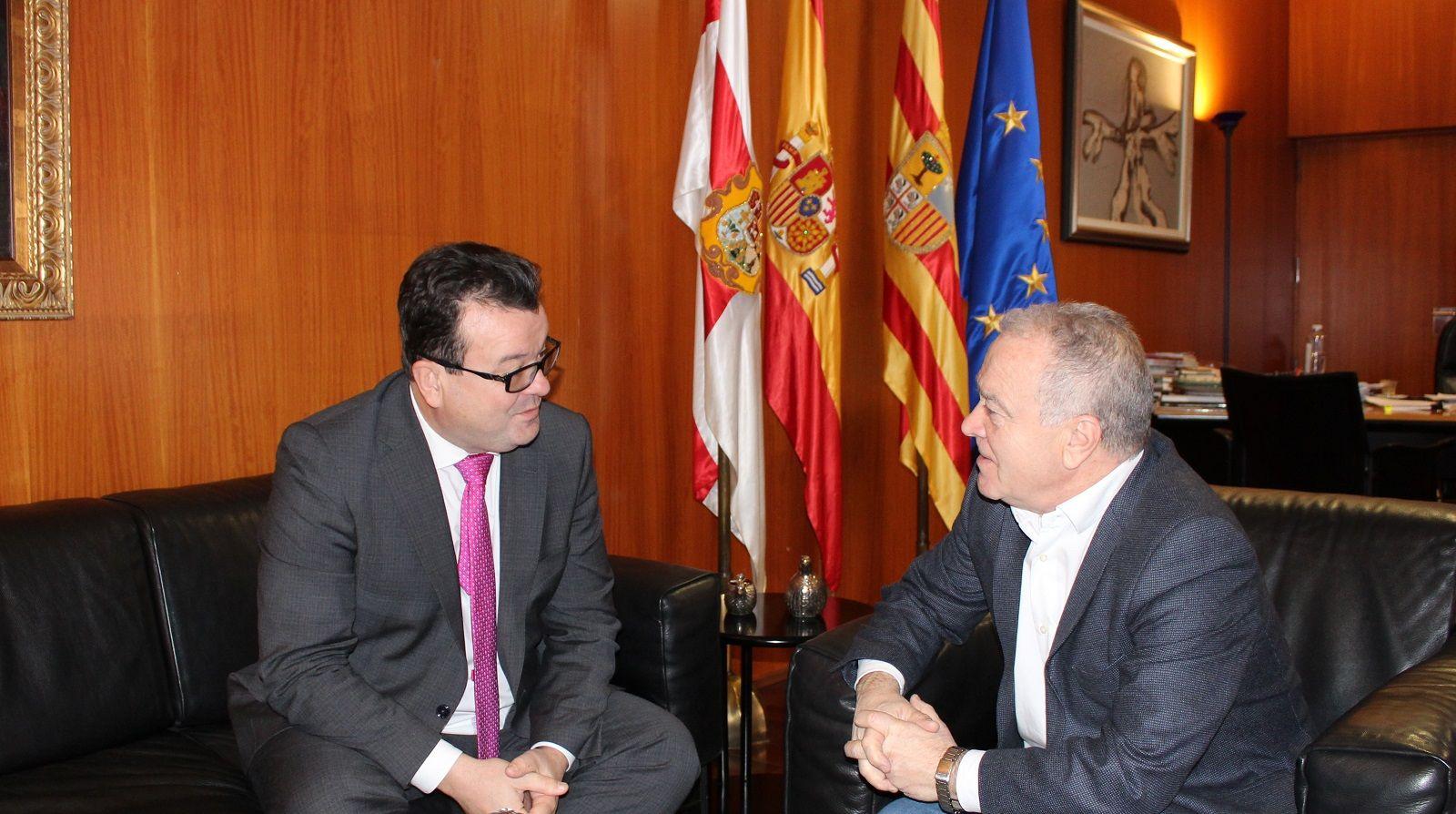 Luis Zubieta y Miguel Gracia. Foto: DPH.