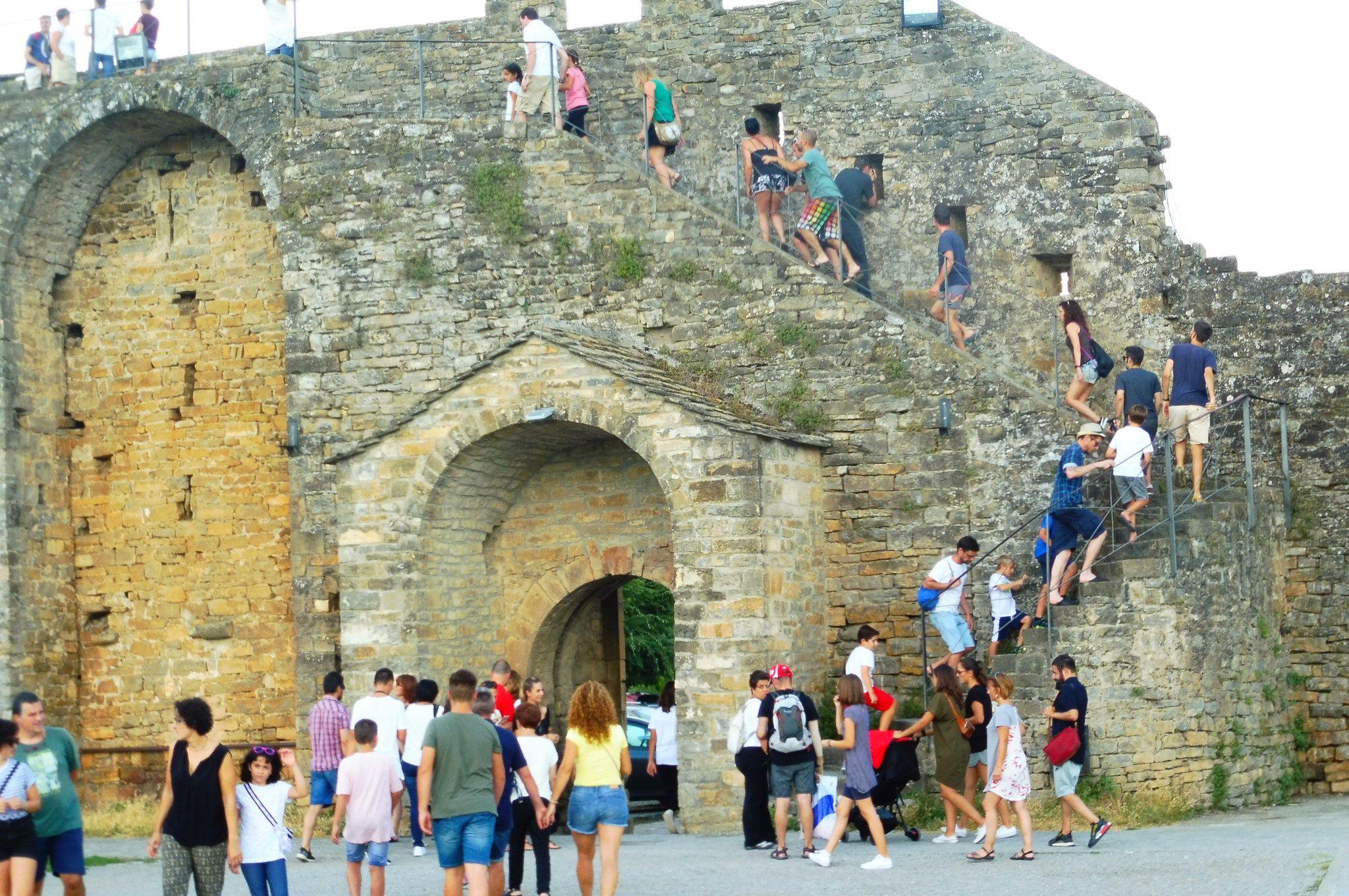 Castillo de Aínsa. Foto: SobrarbeDigital