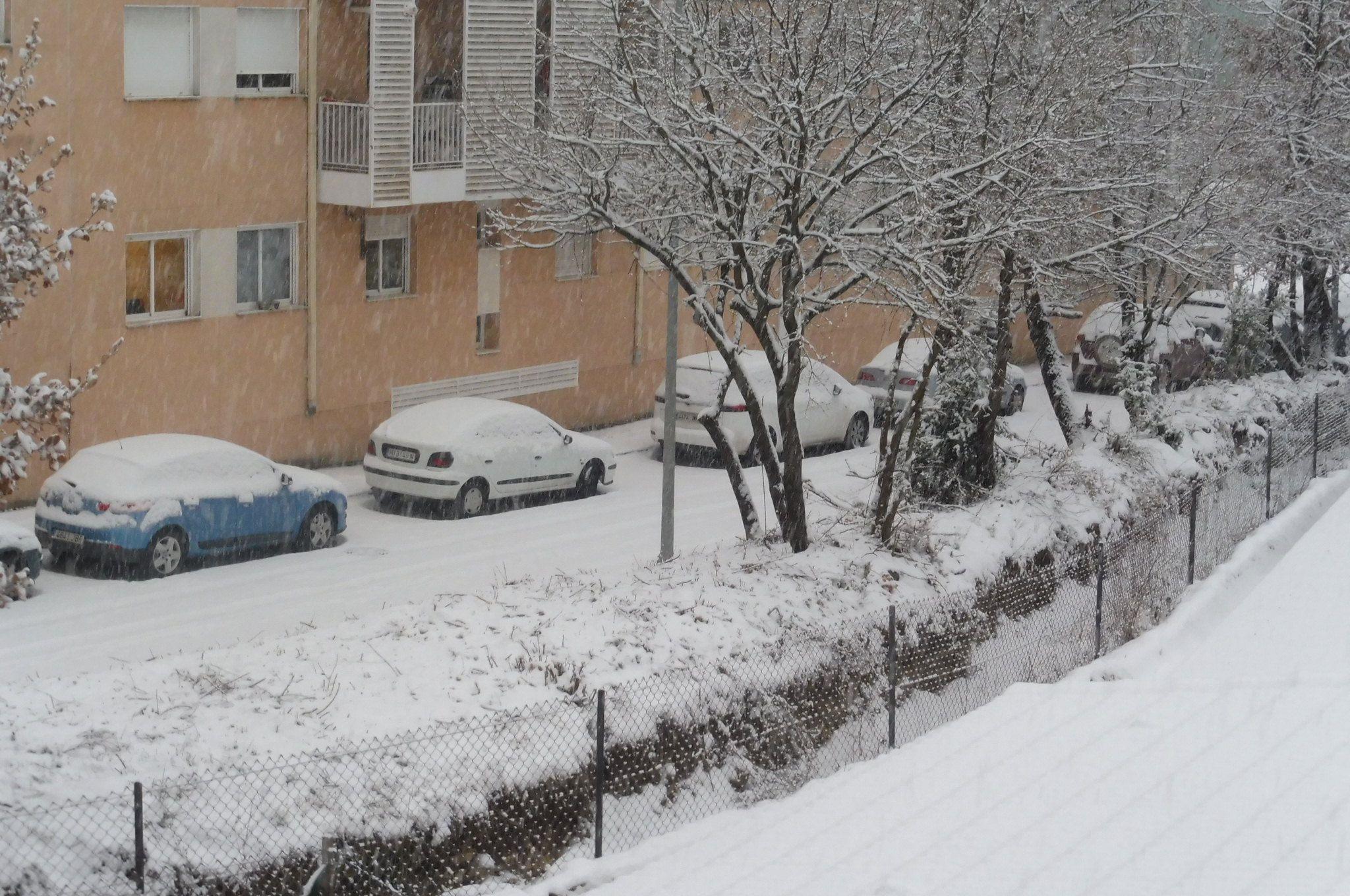 Aínsa esta mañana. Foto: SobrarbeDigital.