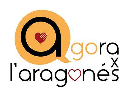 Logo del programa Agora x l'aragonés