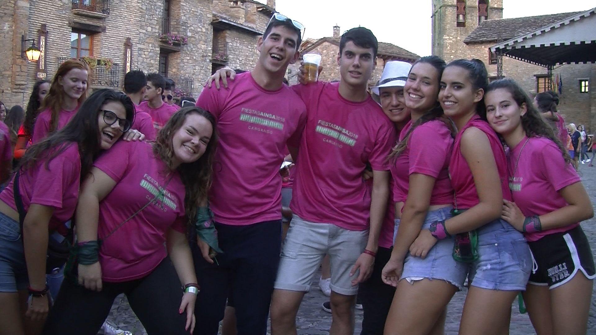 La imagen corresponde a las Fiestas de Aínsa/ Septiembre 2018. Foto: SobrarbeDigital.