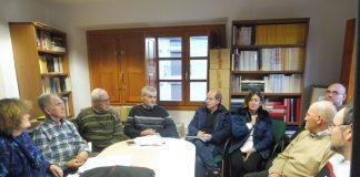 Imagen de la asamblea del CES. Foto. SobrarbeDigital.
