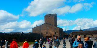 Castillo de Aínsa. Foto: SobrarbeDigital.