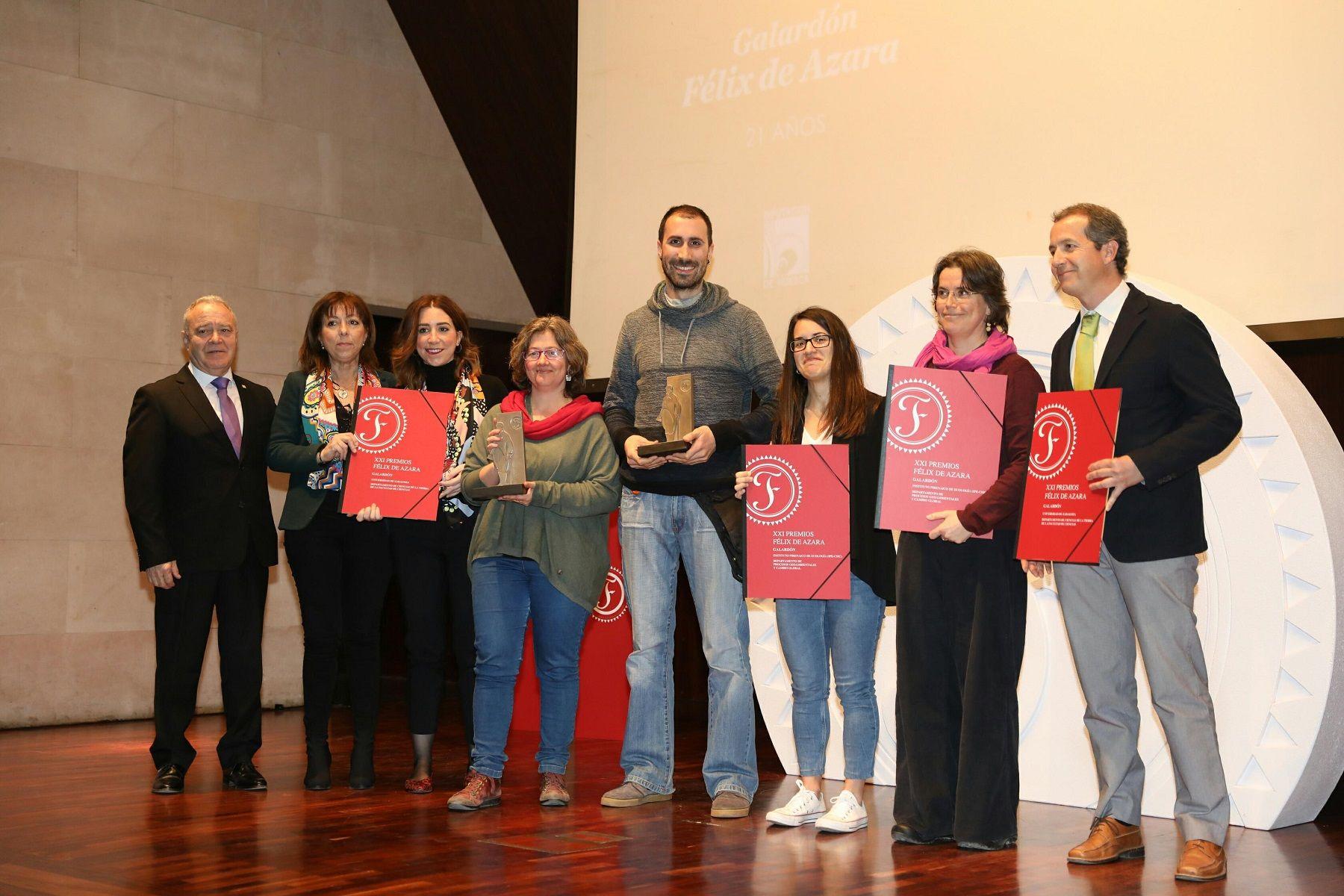 Los galardonados. Foto: DPH. Álvaro Calvo.