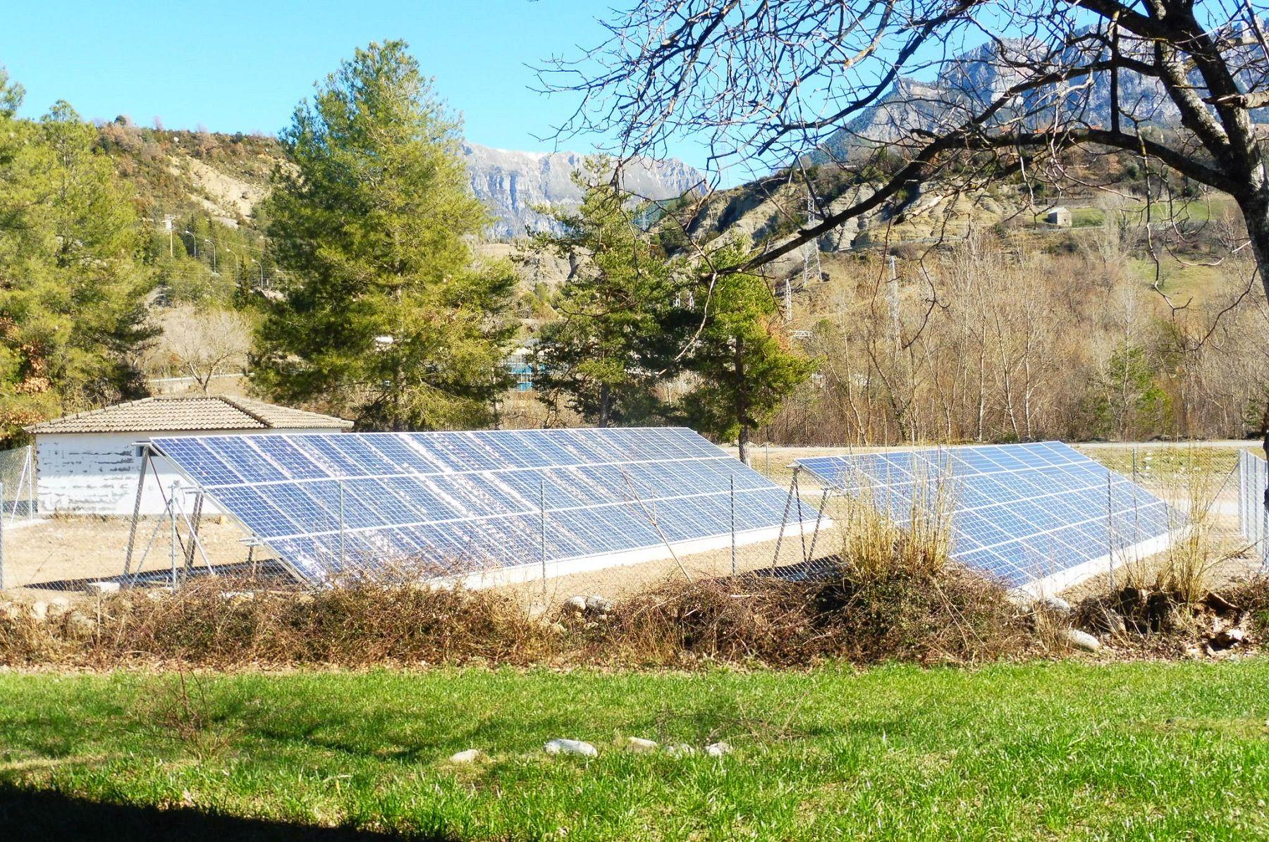 La instalación está ubicada en Escalona. Foto: SobrarbeDigital.