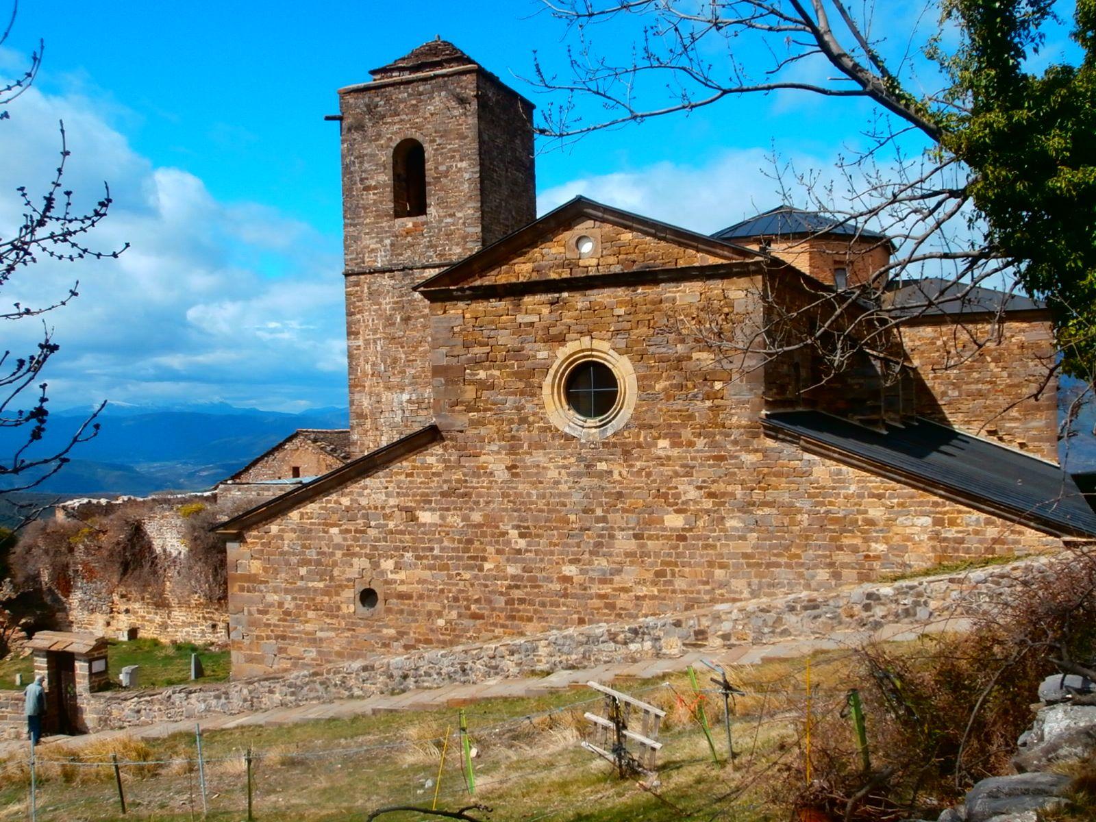 Monasterio de San Victorián. Foto: SobrarbeDigital.