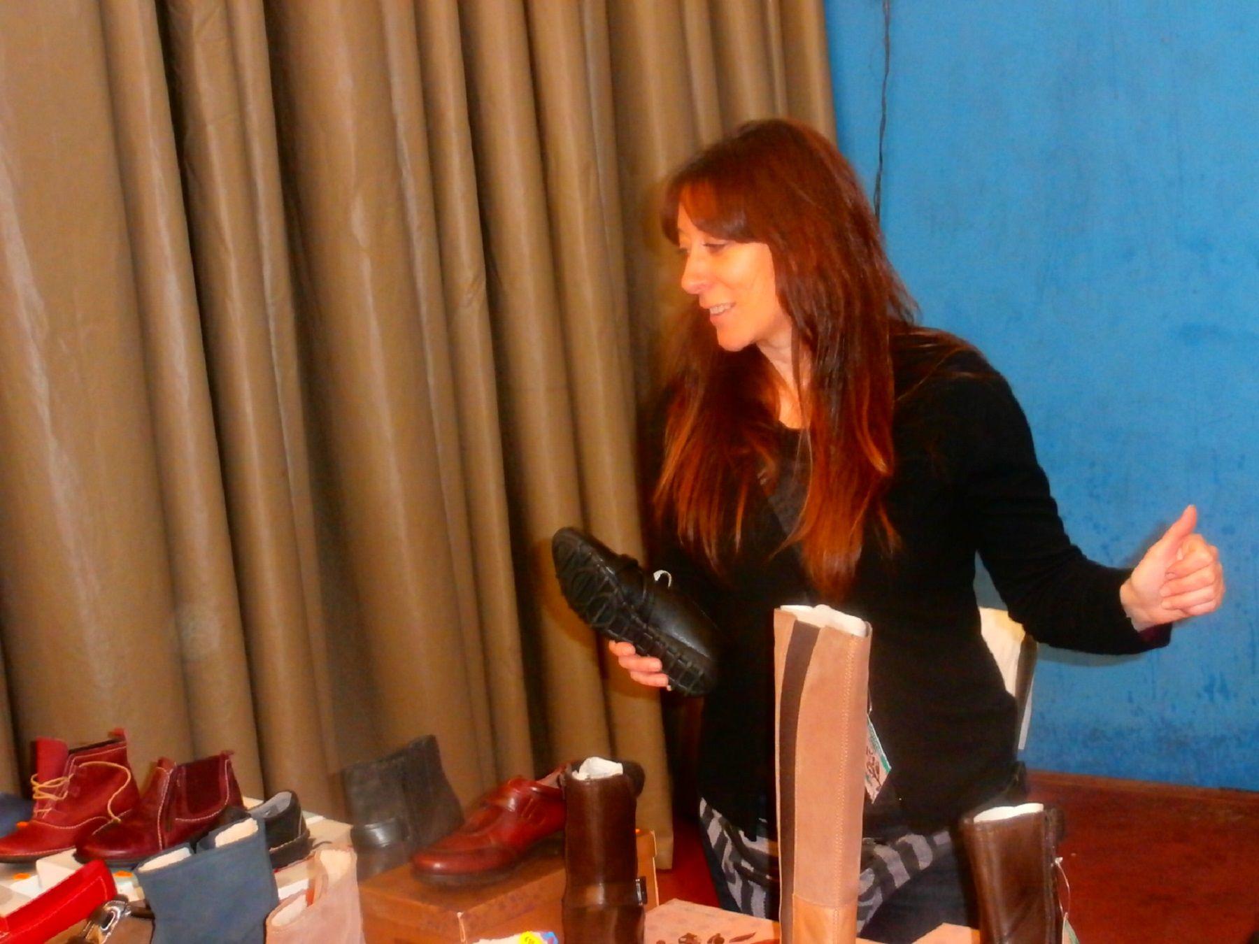 Almacén de Calzado Teresa Mir, uno de los comercios participantes en 2018. Foto: SobrarbeDigital.
