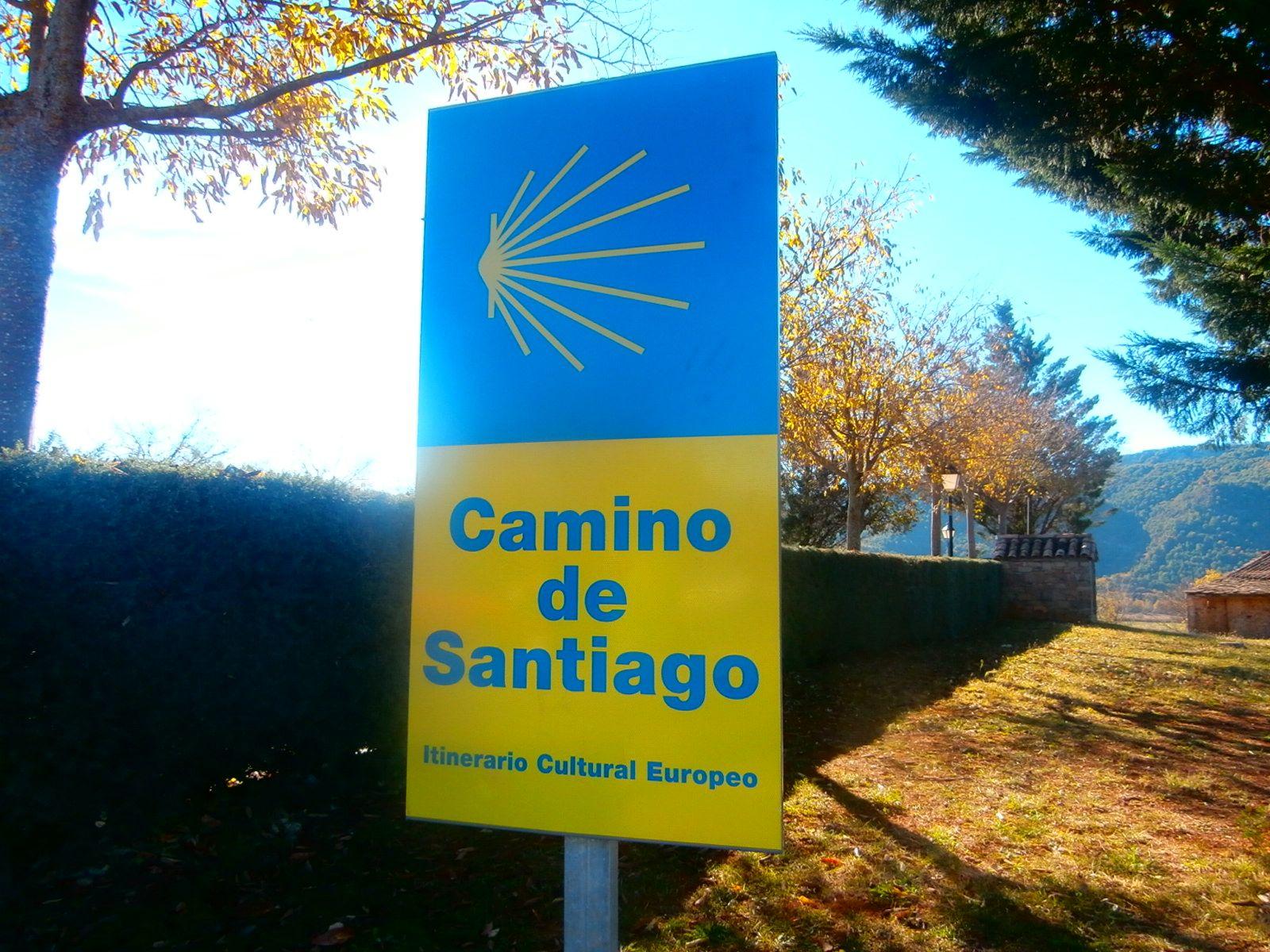 Camino de Santiago a su paso por Sobrarbe. Foto: SobrarbeDigital.