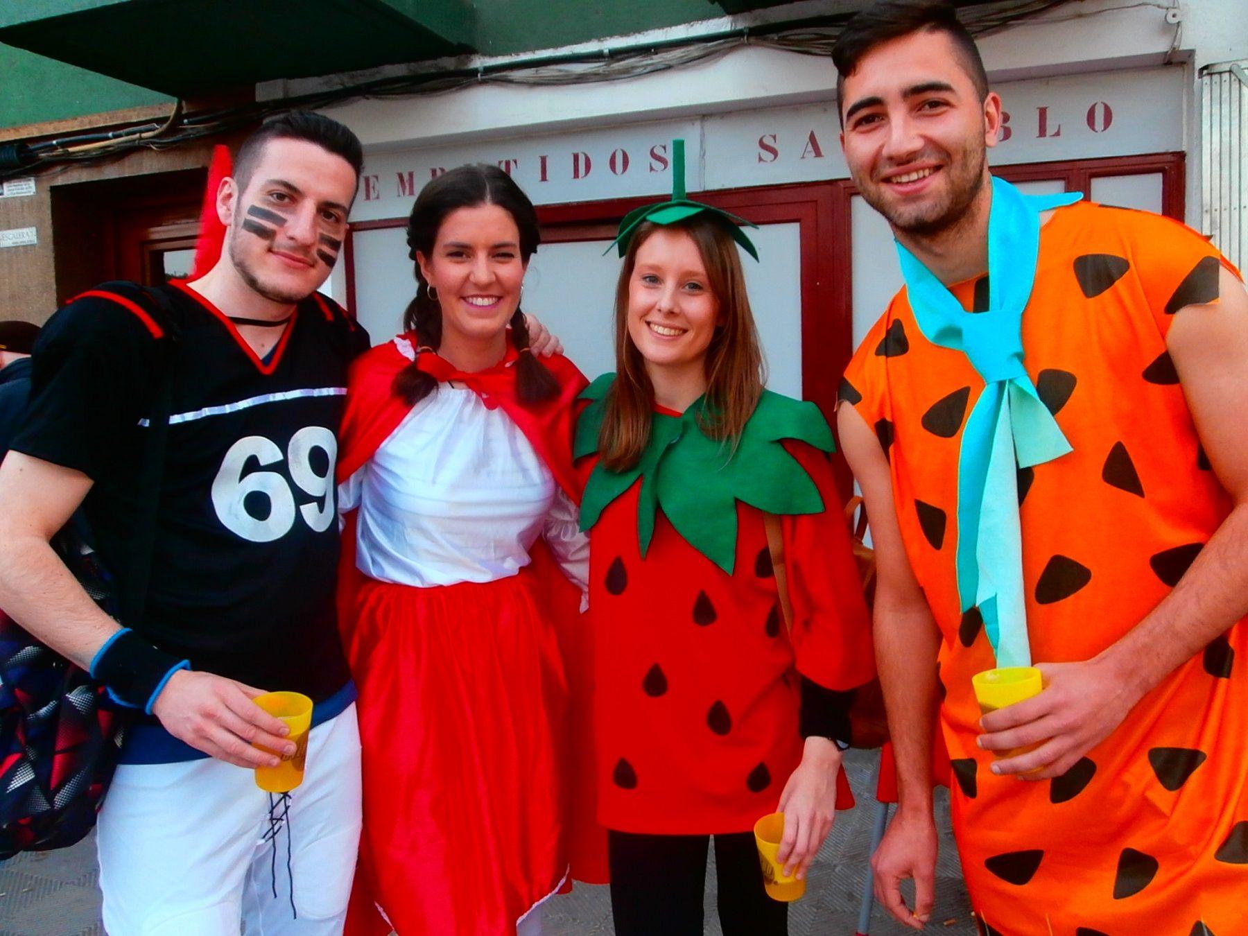 Imagen de otra edición del carnaval de Boltaña. Foto: SobrarbeDigital.