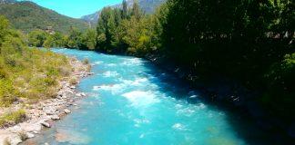 Imagen del río Ara. Foto. SobrarbeDigital.